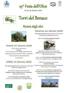 Locandina 25a festa oliva a Torri del Benaco