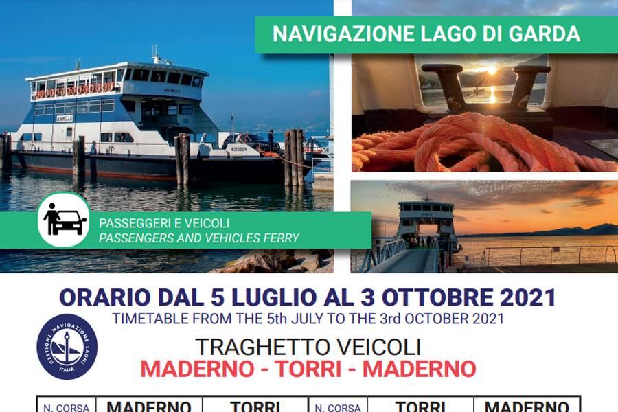 Cliccare per aprire pdf contenente orari del traghetto Maderno-TorridelBenaco-Maderno valido dal 05 luglio al 03 ottobre 2021