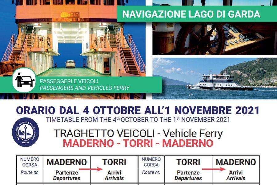 Cliccare per aprire pdf contenente orari del traghetto Maderno-TorridelBenaco-Maderno valido dal 04 ottobre al 01 novembre 2021